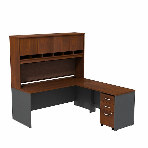 Series C L Shaped Desk Office Suite by Bush Business Furniture