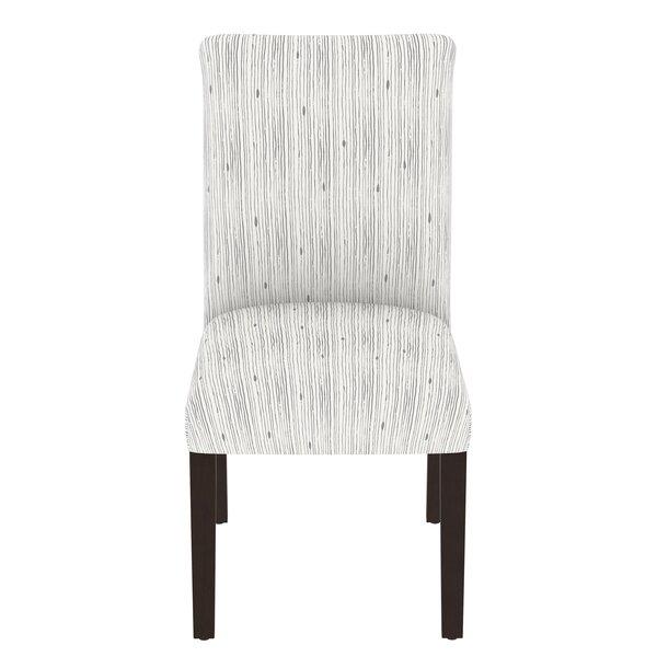 Karen Stripe Upholstered Dining Chair by Brayden Studio