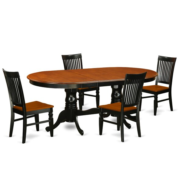 Pilcher 5 Piece Extendable Dining Set by August Grove
