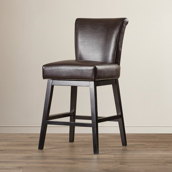 Owen 27 Swivel Bar Stool by Andover Mills