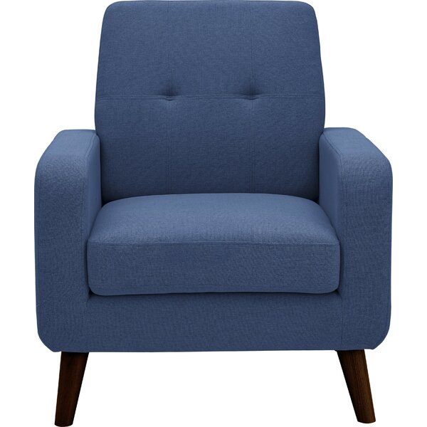 Kaufmann Linen Armchair by George Oliver
