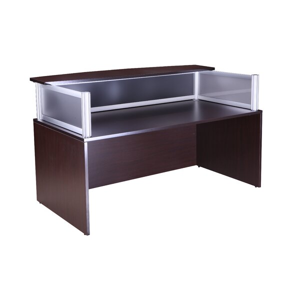 Rectangular Reception Desk by Boss Office Products