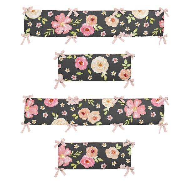 Watercolor Floral Crib Bumper by Sweet Jojo Designs