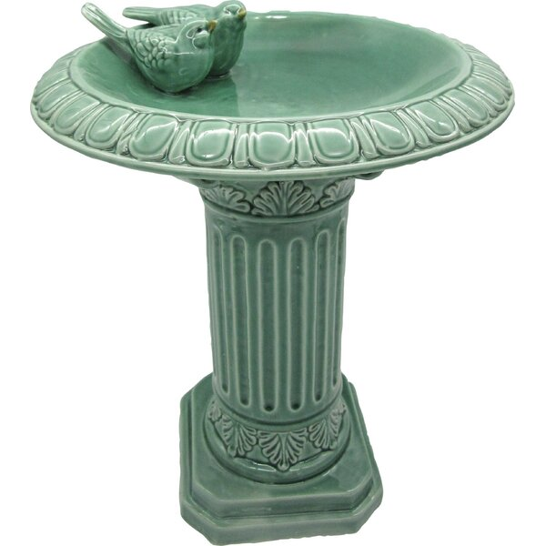 Aldossari Birdbath by August Grove