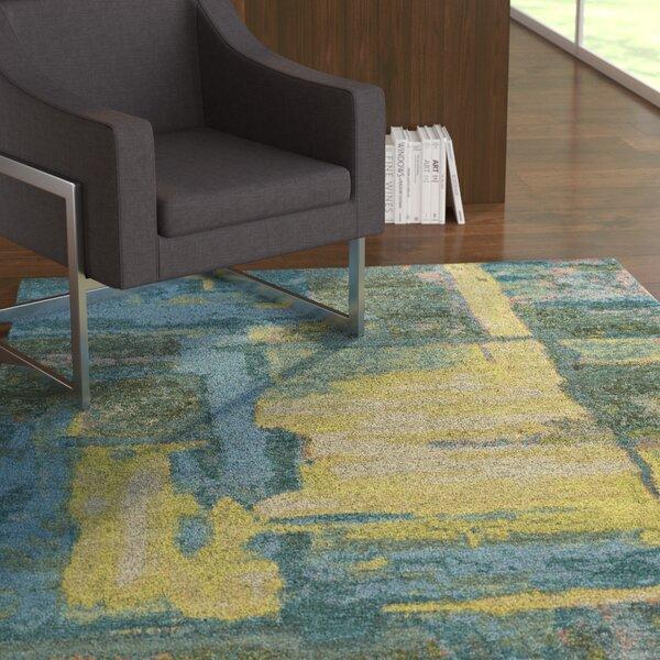 Asdsit Blue Area Rug by Ebern Designs