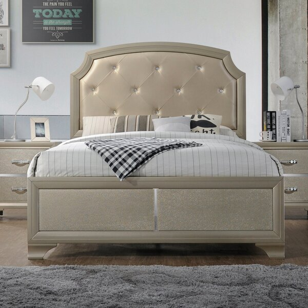 Mcphearson Upholstered Standard Bed by House of Hampton House of Hampton