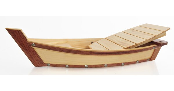 Wooden Sushi Boat by Old Modern Handicrafts