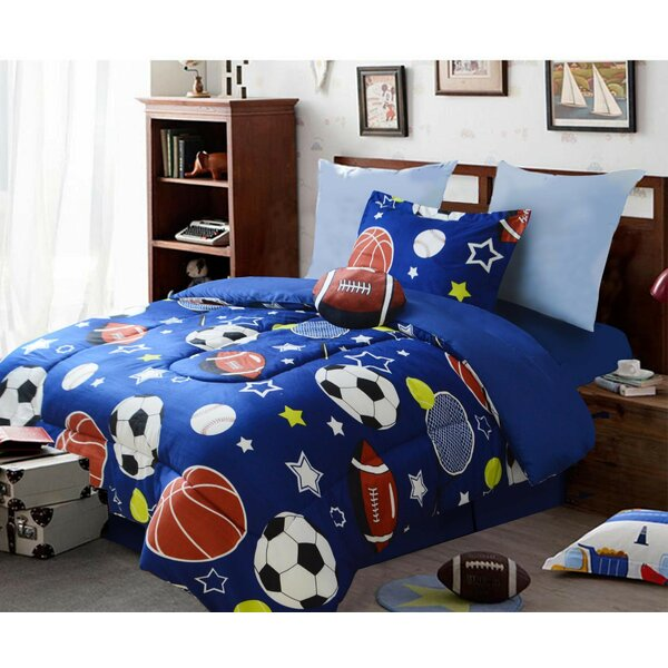 Helzer Comforter Set by Zoomie Kids