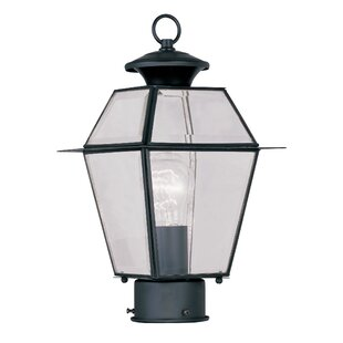 Best Reviews Orchard Lane Outdoor 1-Light Lantern Head By Three Posts