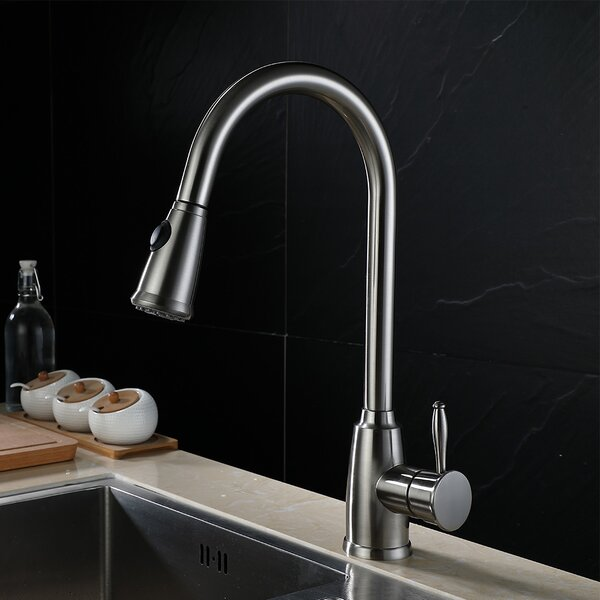 Pull Down Single Handle Kitchen Faucet by Huicheng Huicheng
