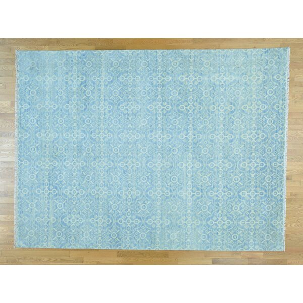 One-of-a-Kind Bean Hand-Knotted Wool Area Rug by Isabelline