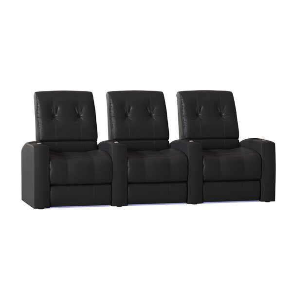 Large Home Theater Row Seating (Row Of 3) By Latitude Run