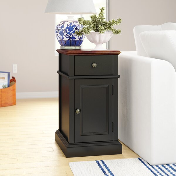 Randel End Table With Storage By Three Posts