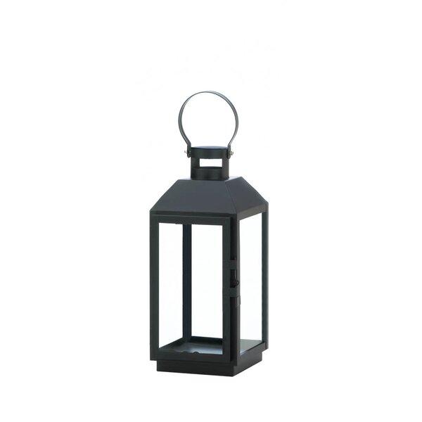 Glass/Metal Lantern by Winston Porter