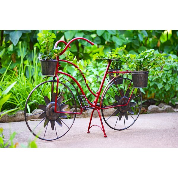 Bicycle Plant Stand by Red Carpet Studios LTD