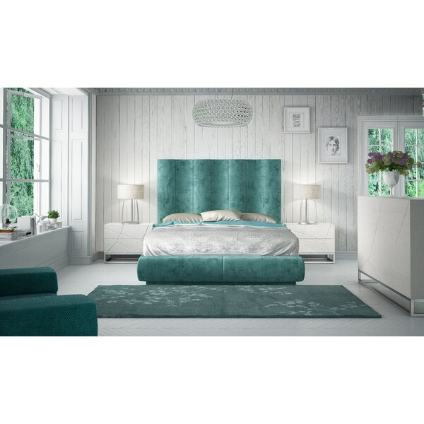 Jerri King Platform 4 Piece Bedroom Set by Everly Quinn