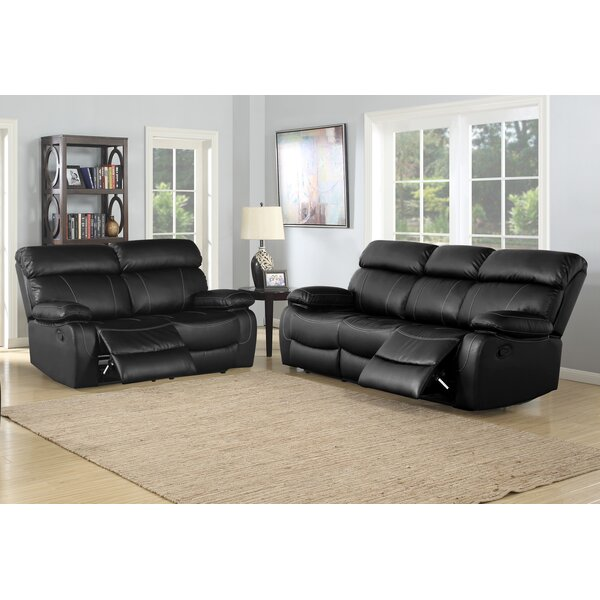 Birdsboro Reclining 2 Piece Living Room Set by Red Barrel Studio