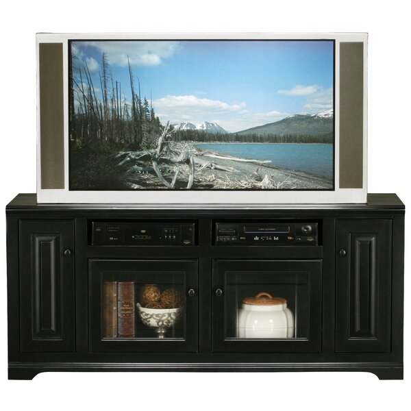 Wentzel Solid Wood TV Stand for TVs up to 75 inches by Red Barrel Studio Red Barrel Studio