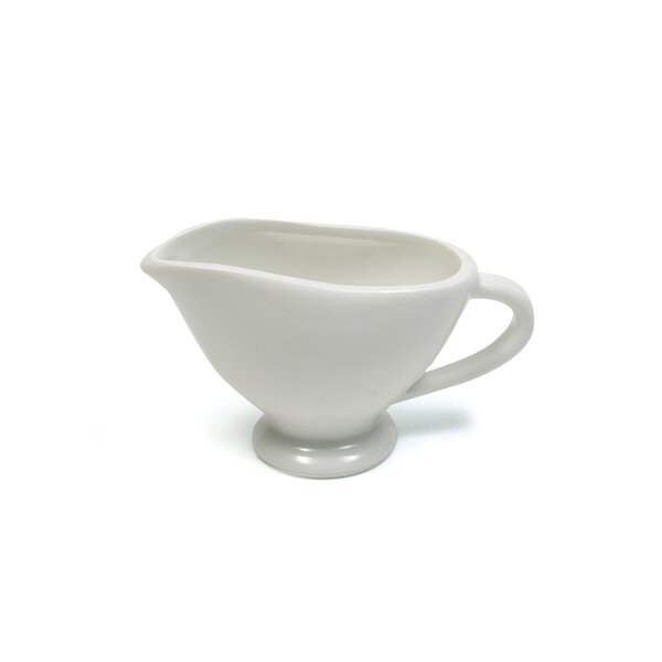 White Basics 3 oz. Individual Gravy Boat (Set of 6) by Maxwell & Williams