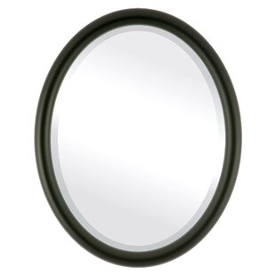 Ebern Designs Rowles Framed Oval Accent Mirror