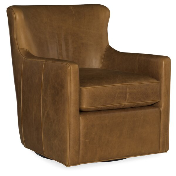 Hess Swivel Club Chair by Hooker Furniture