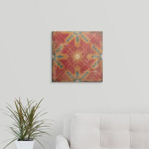 Moroccans Tile II by Cleonique Hilsaca Graphic Art on Wrapped Canvas by Great Big Canvas