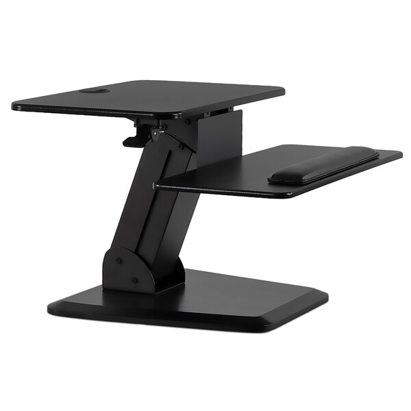 Sit Stand Height Adjustable Desk Mount by Mount-it