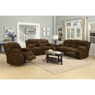 Bolander Reclining Configurable Living Room Set Red Barrel Studio