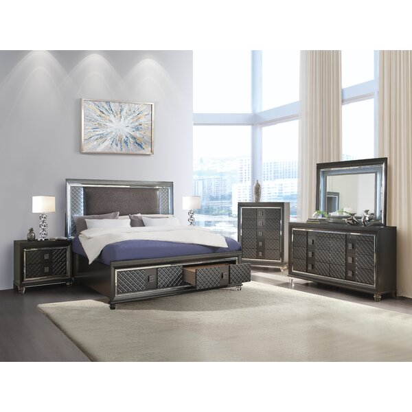 Garofalo Platform Configurable Bedroom Set by Everly Quinn