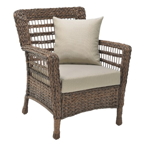 Wickstrom Concept Patio Chair with Cushions by Highland Dunes Highland Dunes