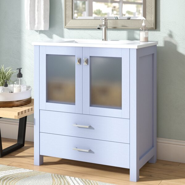 Lapp Modern 30 Single Bathroom Vanity Set by Latitude Run