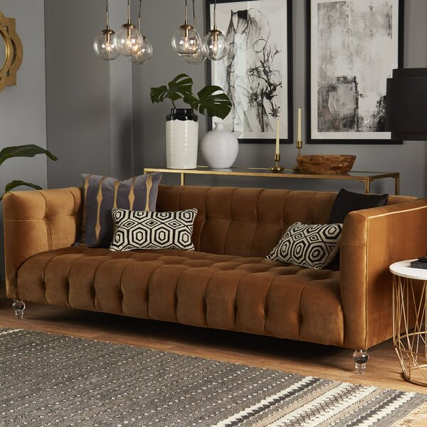 Fine Quality Pernilla Chesterfield Sofa by Willa Arlo Interiors by Willa Arlo Interiors