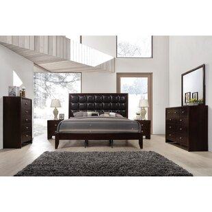 Willenhall Platform 6 Piece Bedroom Set ByEbern Designs