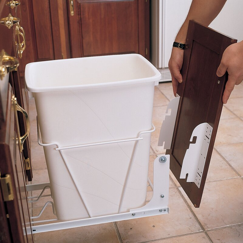 default_name & Rev-A-Shelf Door Mounting Kit for Wire RV Pull Out Trash Can ... Pezcame.Com