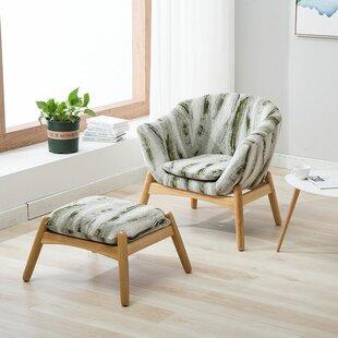 Mid Century Chair Ottoman Wayfair