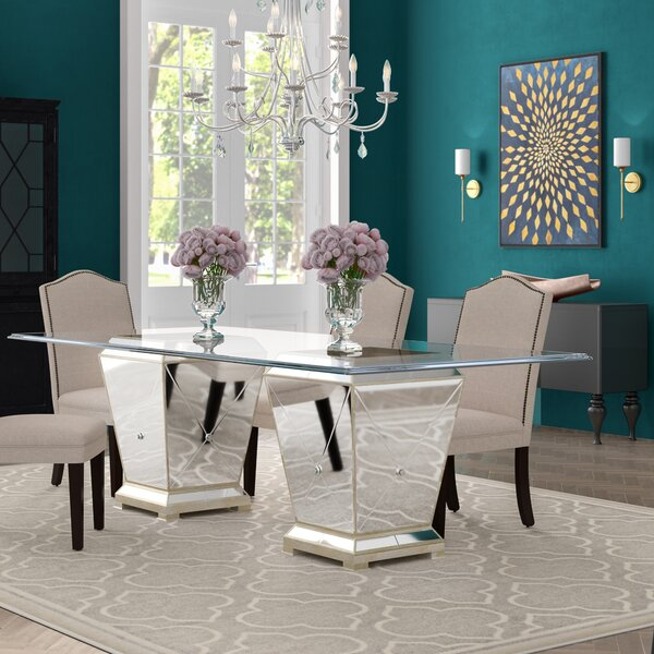 Roehl Rectangular Dining Table by Willa Arlo Interiors