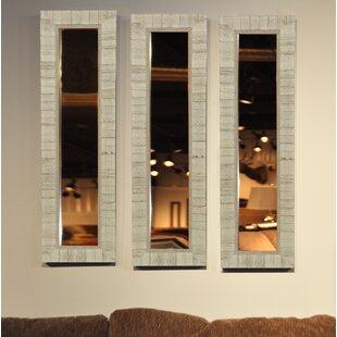 Vinton American Made Tuscan Ivory Mirror Panel & American Made Dinnerware | Wayfair