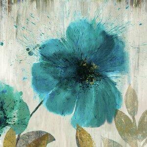 Splatter Flower II' Painting Print by Andover Mills