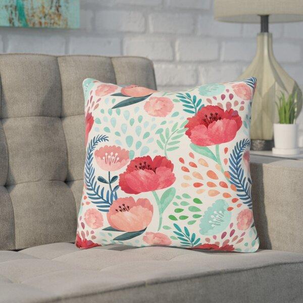 Erato Outdoor Throw Pillow by Wrought Studio