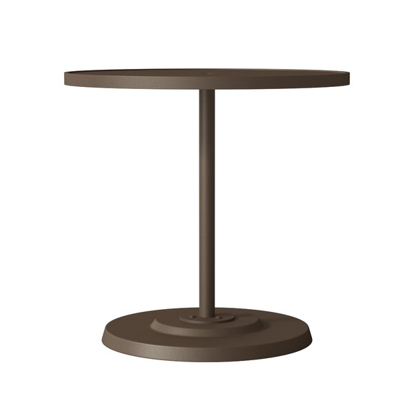 Boulevard Aluminum Bar Table by Tropitone