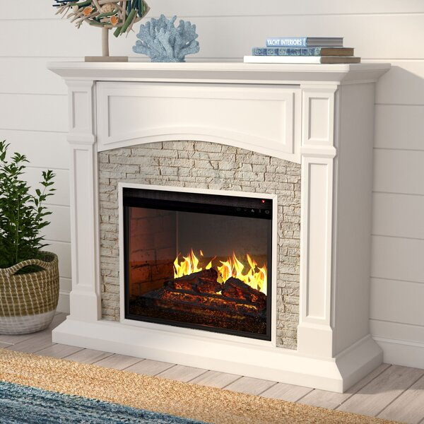Cameron Infrared Electric Fireplace by Beachcrest Home
