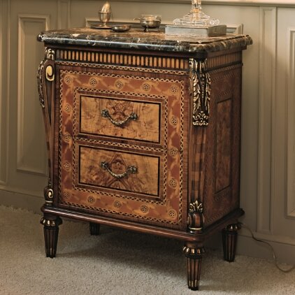 Elite 2 Drawer Nightstand by Annibale Colombo