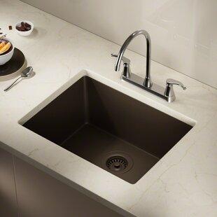 Undermount Granite Kitchen Sink Undermount kitchen sinks youll love wayfair save to idea board workwithnaturefo