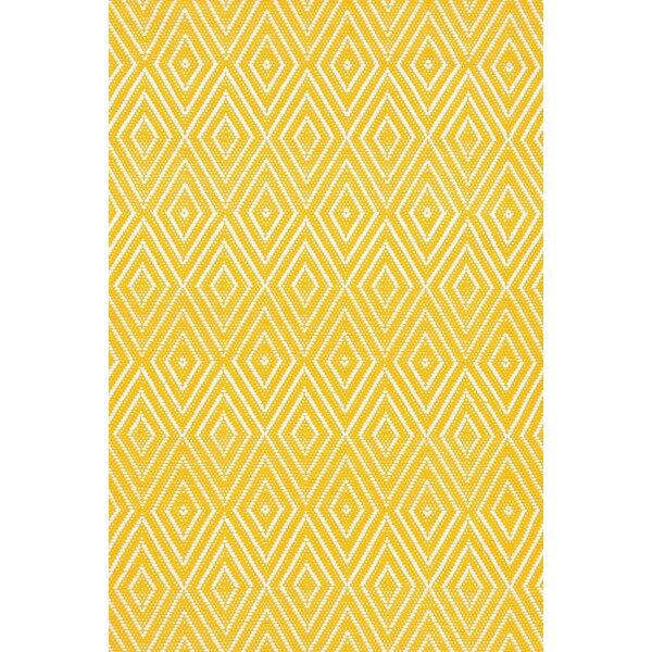 Indoor/Outdoor Yello Area Rug by Dash and Albert Rugs