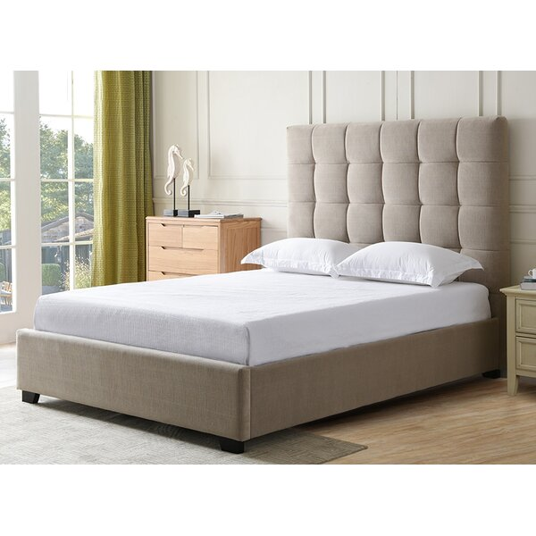 Drews Upholstered Standard Bed by Darby Home Co