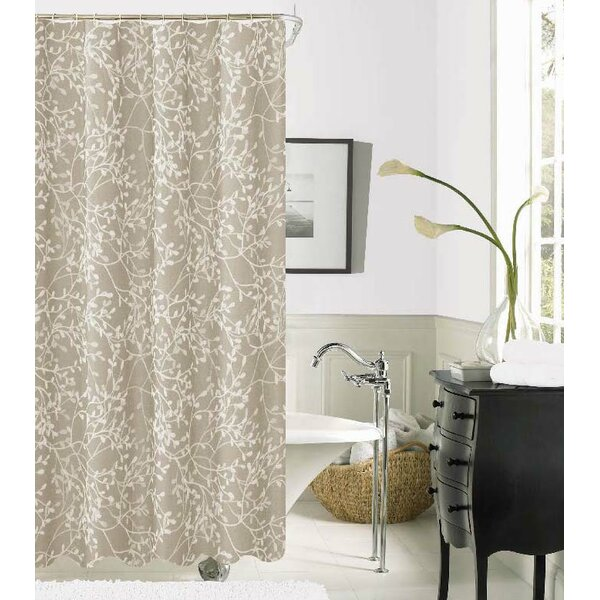 Orland Printed Fabric Shower Curtain by Darby Home Co