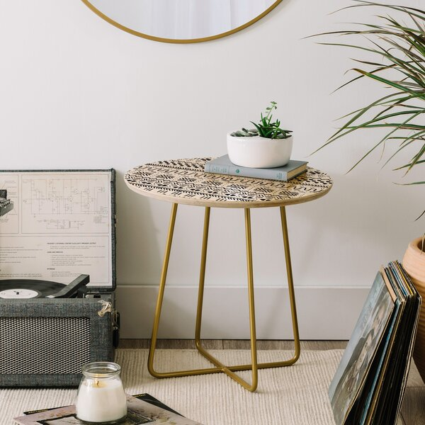 Caroline Okun Sikasso End Table by East Urban Home