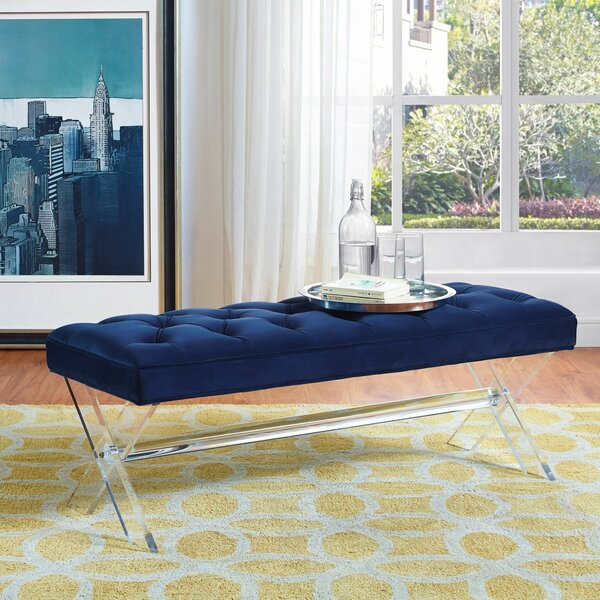 Avel Upholstered Bench by Willa Arlo Interiors Willa Arlo Interiors