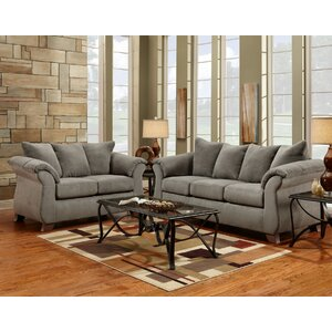 Tottenham 2 Piece Living Room Set by Three Posts