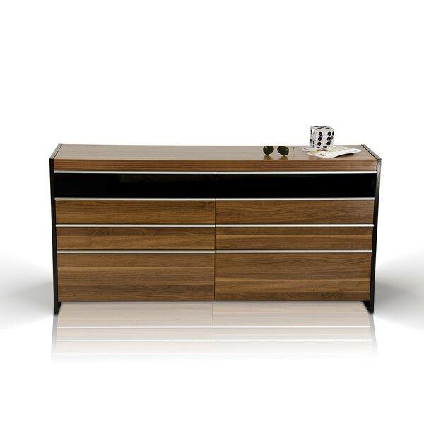 Cooke 8 Drawer Double Dresser by Brayden Studio